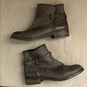 Urban outfitters BDG rugged leather boots